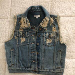 LF Jean vest, size S
